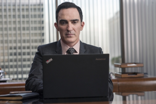 Patrick Fischler in a still from Twin Peaks. Photo: Suzanne Tenner/SHOWTIME