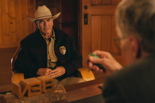 Robert Forster in a still from Twin Peaks. Photo: Courtesy of SHOWTIME