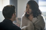 """The Flash -- """"Luck Be a Lady"""" -- Image Number: FLA403a_0039b.jpg -- Pictured (L-R): Grant Gustin as Barry Allen and Candice Patton as Iris West -- Photo: Robert Falconer/The CW -- © 2017 The CW Network, LLC. All rights reserved."""