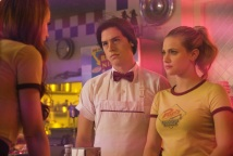 """Riverdale -- """"Chapter Fifteen: Nighthawks"""" -- Image Number: RVD202b_0156.jpg -- Pictured (L-R): Cole Sprouse as Jughead Jones and Lili Reinhart as Betty Cooper -- Photo: Bettina Strauss /The CW -- © 2017 The CW Network. All Rights Reserved"""