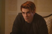 "Riverdale -- ""Chapter Sixteen: The Watcher in the Woods"" -- Image Number: RVD203a_0198b -- Pictured: KJ Apa as Archie Andrews -- Photo: Bettina Strauss /The CW -- © 2017 The CW Network. All Rights Reserved"