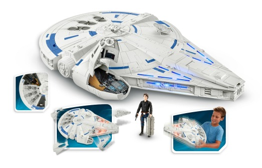 1 SOLO A STAR WARS STORY 3.75-INCH KESSEL RUN MILLENNIUM FALCON VEHICLE