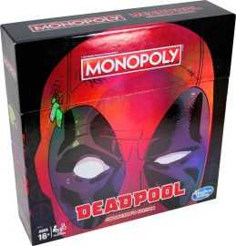 1MONOPOLY GAME MARVEL DEADPOOL COLLECTOR'S EDITION - pkg (1)