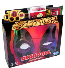 2MONOPOLY GAME MARVEL DEADPOOL COLLECTOR'S EDITION - pkg (2)