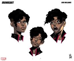2 IRONHEART RIRI by Kevin Libranda