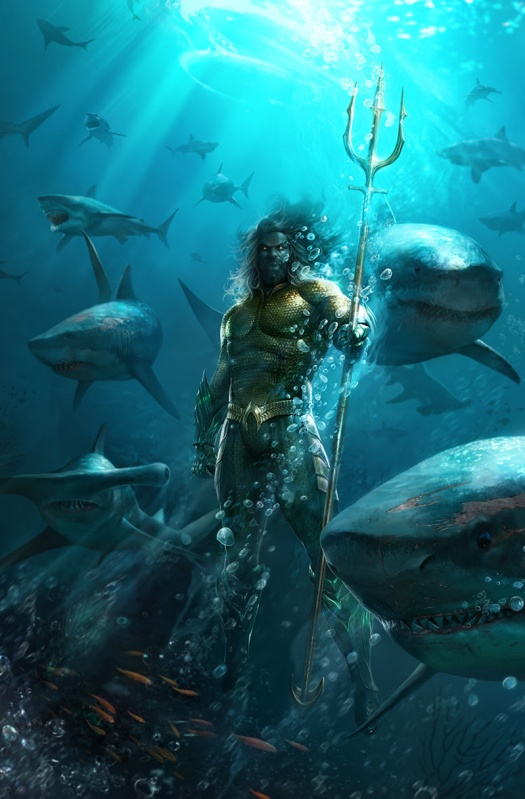 Justice League Aquaman Drowned Earth Variant Covers