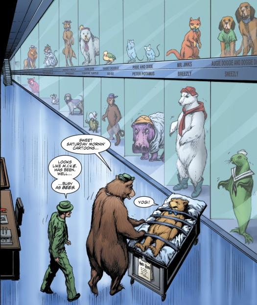 7 Deathstroke Yogi Bear