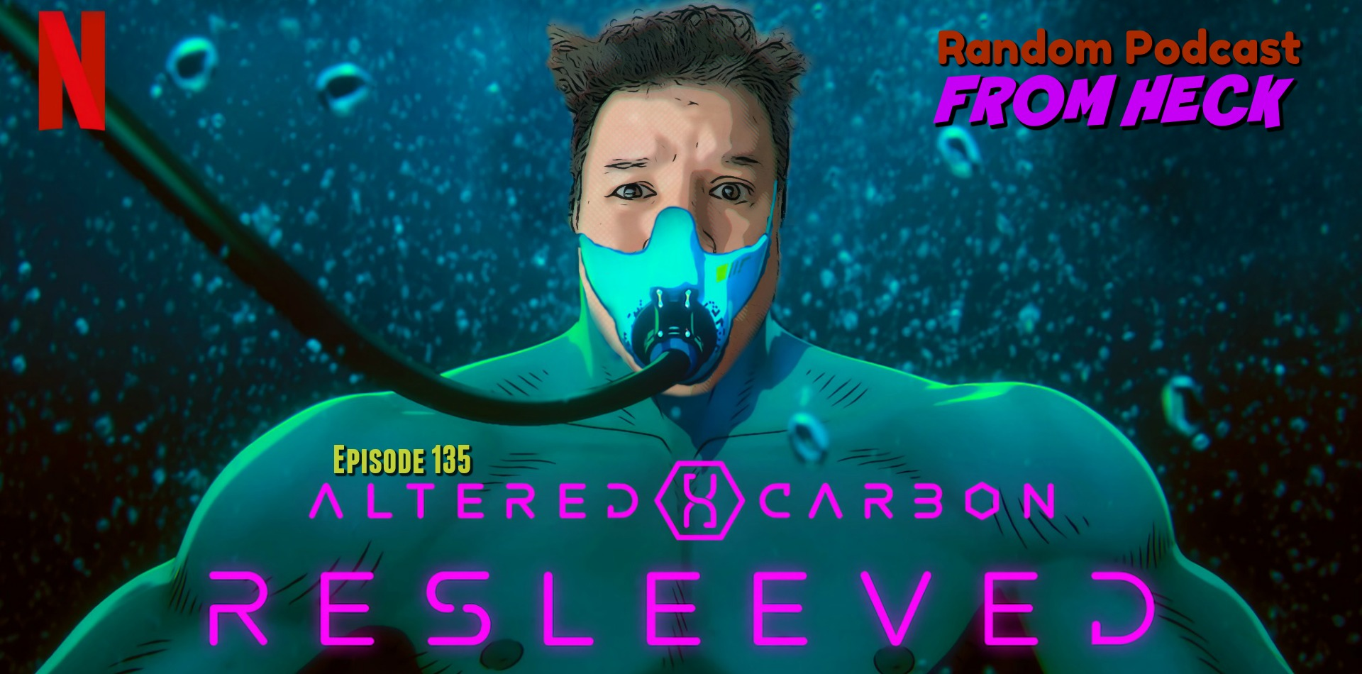 Random Podcast From Heck Episode 135 Altered Carbon Resleeved Star Trek Picard Spenser Confidential And More What The Heck Is Going On